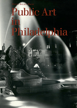 Graphic of Public art in Philadelphia book