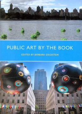 Public art by the book by Goldstein, Barbara